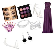 """Prom"" by anandifrancis on Polyvore featuring Steve Madden, MAC Cosmetics, Chanel, Effy Jewelry, Messika and Bling Jewelry"