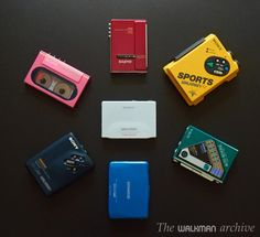 Walkman - all of the colors, all of the time.