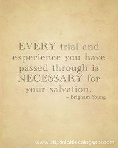 Trials Make Us Stronger