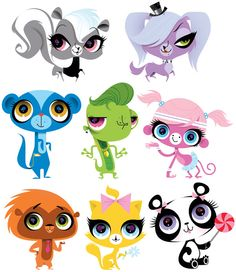 Kirsten Ulve - Littlest Pet Shop Characters concept art