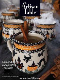 Halloween Polish pottery