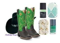 """Boots and Jams - Jamberry Nails"" by kspantongroup on Polyvore"