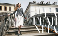 Deni Cler Milano, aw 2016/2017, campaign. Deni Cler - inspired by Italian style since 1972.