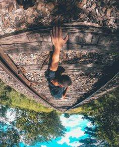 Such a creative and unique photo taken with a Gopro Creative Photoshoot Ideas, Creative Instagram Photo Ideas, Insta Photo Ideas, Gopro Photography, Photography Poses For Men, Creative Photography, Mens Photoshoot Poses, Photoshoot Themes, Outdoor Pictures