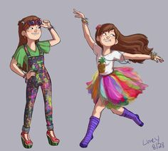 dipper and mabel in love - Google Search