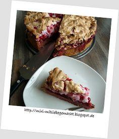 Johannisbeer-Baiser-Kuchen Rezept dazu auf meinem Blog http://miri-mitliebegemacht.blogspot.de/2015/07/die-guten-ins-topfchen.html