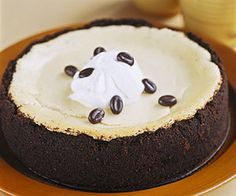 Brandy Alexander Cheesecake   My two favourite things together!