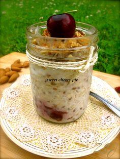 Zain's Swiss Summer Oats -     Sweet Cherry Pie    Complete Recipe: http://www.zainsaraswatijamal.com/site/recipes/zains-swiss-summer-oats-10-signature-flavours/