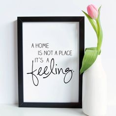 "Print ""feeling home"" by m.belle"