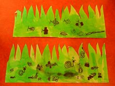 Tickle bugs in the grass – Knippen Educational Leadership, Educational Technology, Art For Kids, Crafts For Kids, Mobile Learning, Maria Montessori, Learning Quotes, Primary Education, Eric Carle