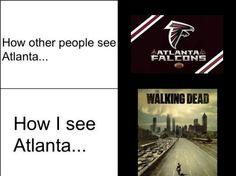{Walking Dead} Atlanta