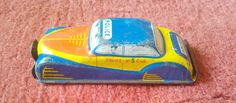 Glam TOY Products Police NO 5 TIN Plate Style Model CAR GTP 534 | eBay