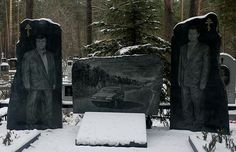 25 Most Rediculously Extravagant Headstones of the Russian Mafia