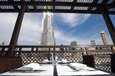 Rivington Grill/ View of Burj Khalifa and The Dubai Fountain
