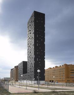 132 Social Housing Block by Estudio Entresitio - Dezeen