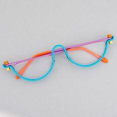 Funky Glasses, Cool Glasses, New Glasses, Cute Sunglasses, Sunglasses Women, Sunnies, Lunette Style, Fashion Eye Glasses, Quirky Fashion