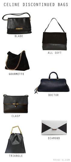Trini blog | Celine discontinued bags