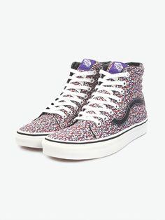Liberty × Vans Sk8-Hi in Assorted Floral sneakers