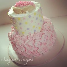 Cake Designs For Baby Dedication : 1000+ images about Christening and baby dedication cakes ...