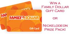 Family Dollar Nick-tastic Summer Sweepstakes - Brought to you by www.Freebies4MeBeez.com - The Best source of FREE STUFF, free samples and deals!