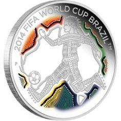 """Belarus 10 roubles 2013 /""""FIFA 2014 World Cup Brasil/"""" Silver PROOF"""