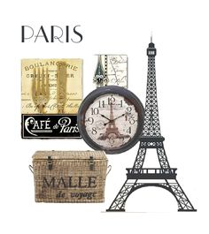 Decorating The Kitchen With Paris Theme