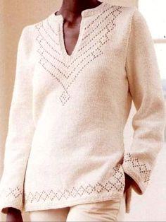 64 Trendy crochet patterns for women shawl beautiful Knitting Machine Patterns, Knit Patterns, Lace Knitting, Knit Crochet, Cardigan Bebe, Knitting Designs, Sweater Fashion, Crochet Clothes, Pulls