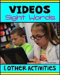 Teach123 - Tips for Teachers: Sight Words Videos and Activities