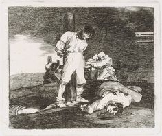 Francisco de Goya y Lucientes: And There's Nothing to Be Done (Y no hai remedio) (32.62.17) | Heilbrunn Timeline of Art History | The Metropolitan Museum of Art