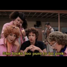 The Pink Ladies, led by Rizzo (Stockard Channing) In Grease Grease 1978, Grease Movie, Grease 2, Pink Lady, Elvis Presley, Grease Quotes, Grease Lyrics, Rizzo Grease, Marilyn Monroe