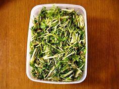 たっぷり美味しい!水菜大量消費サラダ