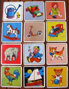 Vintage Snap Playing Cards from thriftypyg on Etsy