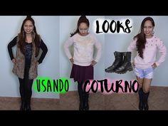 3 looks inspiração para usar com coturno por Renata Castro