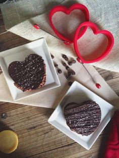 Paleo Chocolate Mousse Hearts