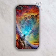 Space Nebula Rubber Soft Case  iPhone case door MiniPocket2012, $8.99