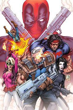 Deadpool vs X-Force #2