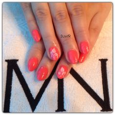 Gel nails made with mystic nails