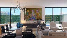 Proyecto 05 3D de interiorismo para vivienda unifamiliar situada en Las Rozas, Madrid alfonsoperezalvarez.com