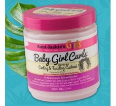 Aunt Jackie's Child Girl- Curling & Twisting Custard (Styling) Curling, Hair Lotion, Custard, Aunt, Coconut Oil, Child, Cosmetics, Olive Oil, Natural Oils