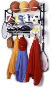 Wall-Mounted Sports Equipment