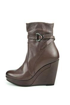 Alberta Fermani Roma Wedge Ankle Booties