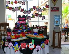 Fiesta Infantiles de Mickey Mouse Clubhouse - Party Ideas : Fiestas Infantiles Decoracion