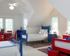 Red White And Blue Design Ideas, Pictures, Remodel and Decor