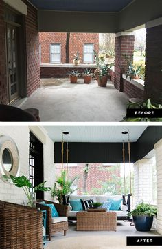 My Front Porch Makeover: The Reveal