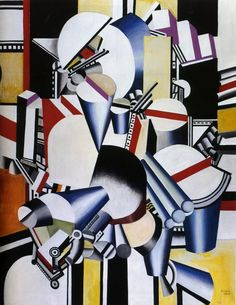 Mechanical compositions - Fernand Leger