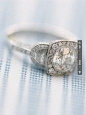 Like this - vintage engagement ring | CHECK OUT MORE GREAT VINTAGE WEDDING IDEAS AT WEDDINGPINS.NET | #weddings #vintagewedding #weddingvintage #oldweddingphotos #events #forweddings #iloveweddings #romance #vintage #planners #old #ceremonyphotos #weddingphotos #weddingpictures