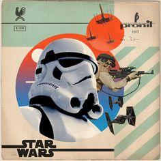 Star Wars record sleeve design   #starwars #vinyl #recordsleeve #records #vinyljunkie #vinylrecords #stormtrooper #starwarsart #starwarsfanart