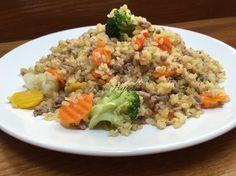 Easy Healthy Recipes, Vegan Recipes, Easy Meals, Cooking Recipes, Hungarian Recipes, Light Recipes, Fried Rice, Tofu, Healthy Living