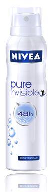 Nivea Pure Invisible 48h 0 %