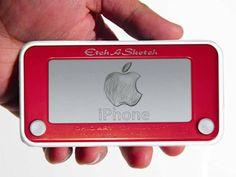 Etch-A-Sketch iPhone Case